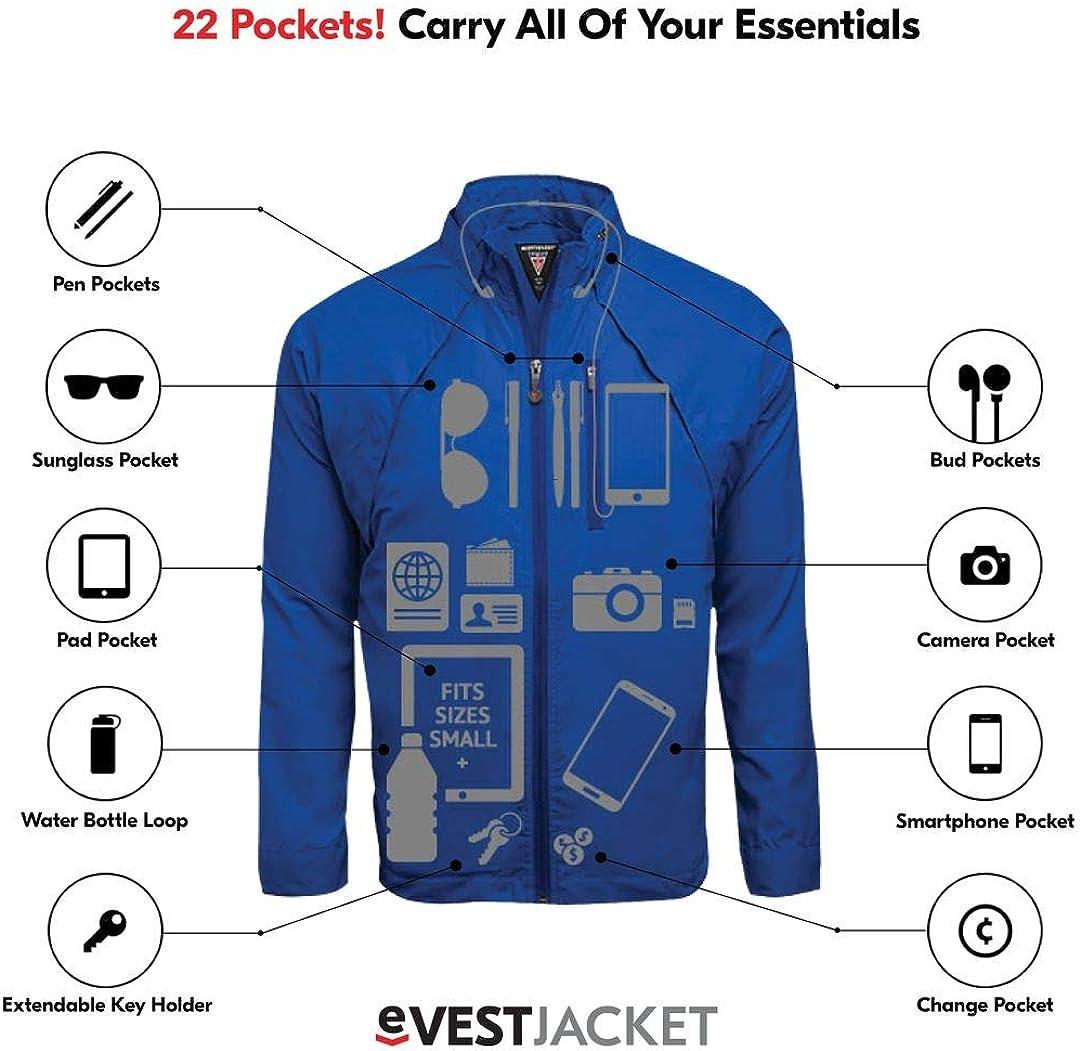 SCOTTeVEST Tropiformer Jacket Travel Clothing 22 Pockets Convertible