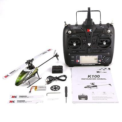 : XK K100 6CH 3D 6G System Mini RC Remote Control