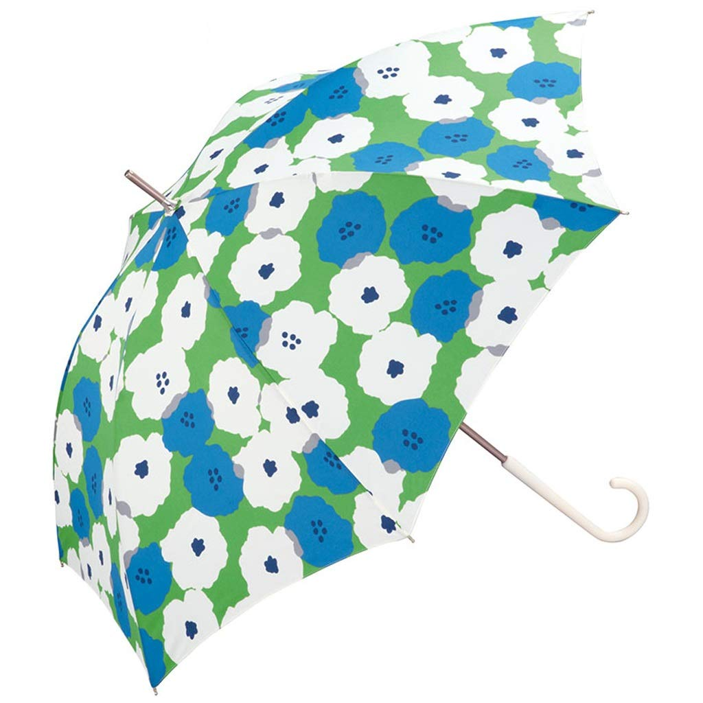 JSSFQK Household Lightweight Umbrellas Personalized Floral Design Folding Umbrellas Sun Protection UV Umbrellas Three Colors Available Umbrella (Color : Blue)
