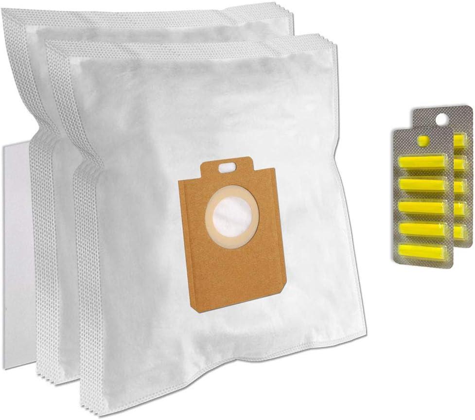 1 Filtro per Aspirapolvere Philips FC9088 Studio EnergyCare Parquet + 10 Profumi 10 Sacchetti Microfibra