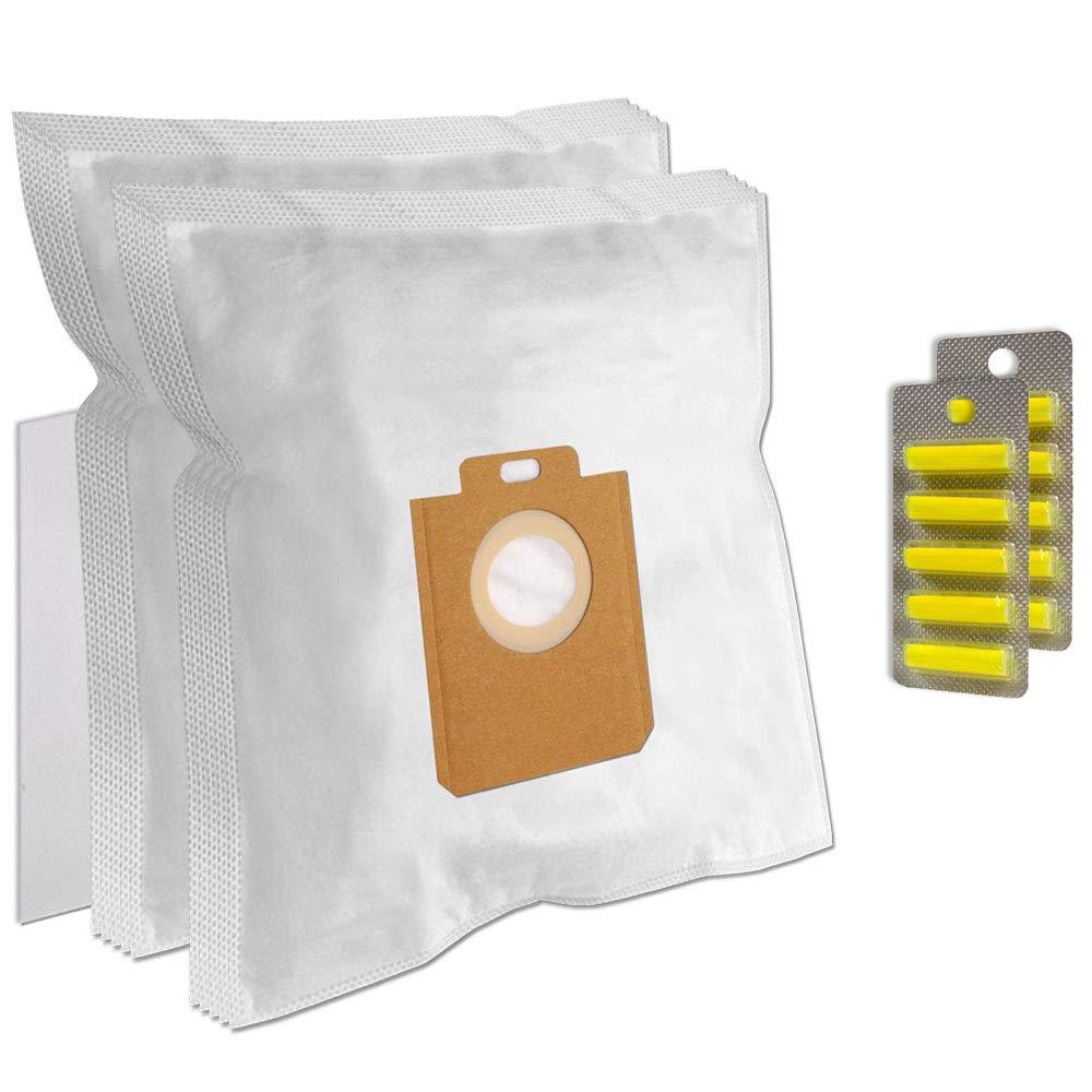 Acquisto PakTrade 10 Sacchetti (Microfibra) + 10 Profumi + 1 Filtro per Aspirapolvere Philips FC8232 Small Star Prezzo offerta