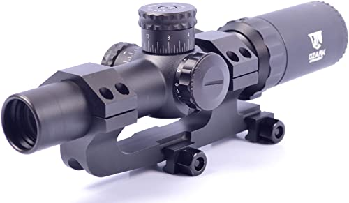 Ozark Armament Razorback 1-6x24 SFP Rifle Scope Mil-Dot Reticle