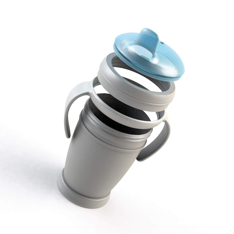 BPA frei Trinken ohne zu versch/ütten Einfach zu waschen LOVI auslaufsicher Trinklernbecher Reizt das Zahnfleisch nicht MINI Buddy Bear weiche Trinkt/ülle 9+Monate 210 ml
