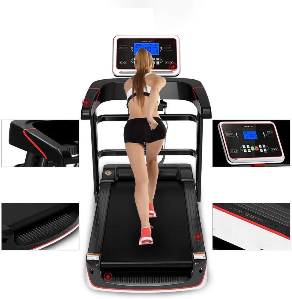 Multifunctional Foldable Electric Treadmill, Treadmills for Home, Sports Fitness Equipment, 100KG Load, 12 Speed Adjustment, Smart Shock Absorption, Massage Sit Ups, LCD Screen MZXDX
