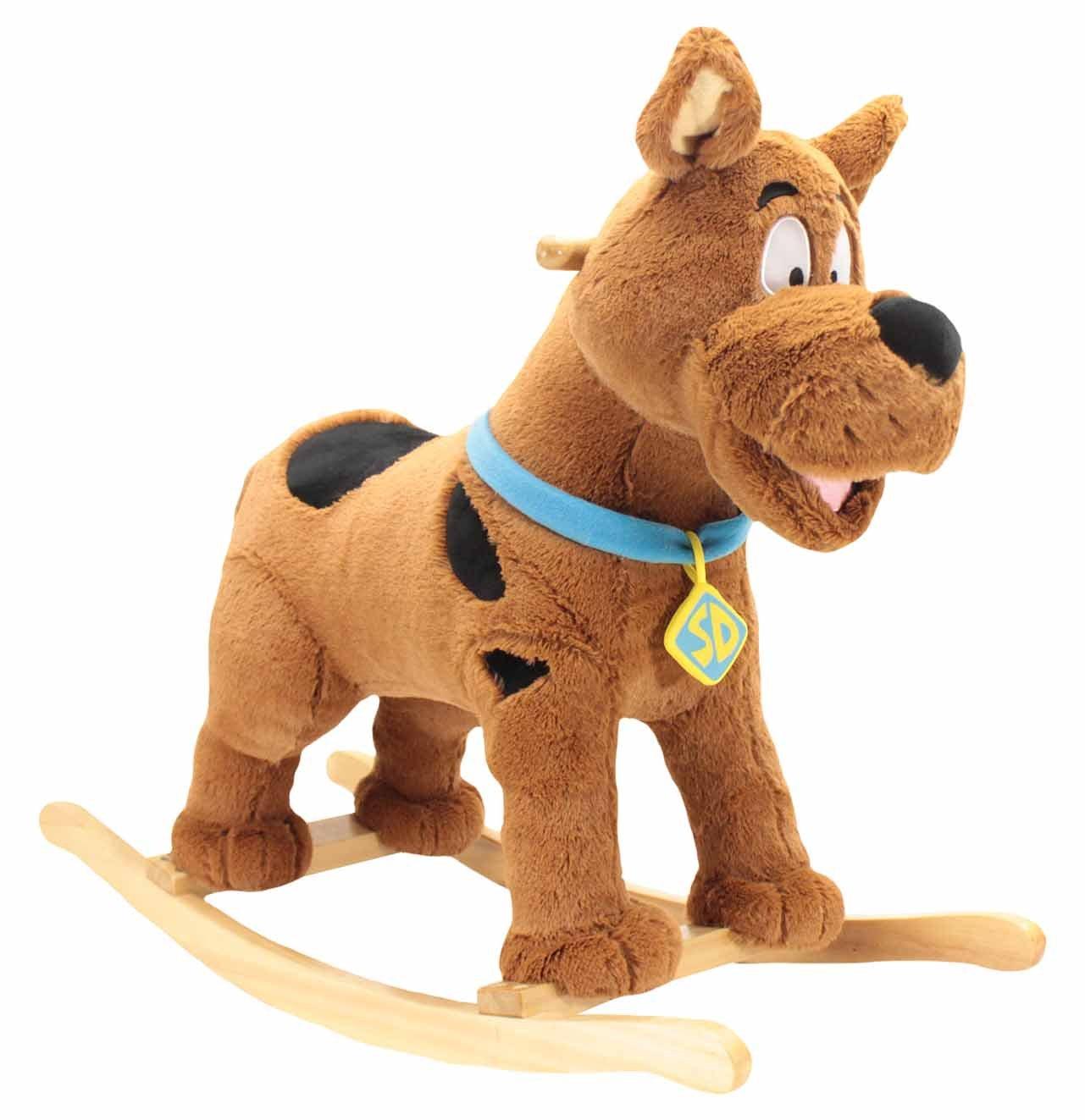 Animal Adventure Warner Brother's Scooby Doo Rocker Ride-on, Brown, 28'' x 12'' x 22''