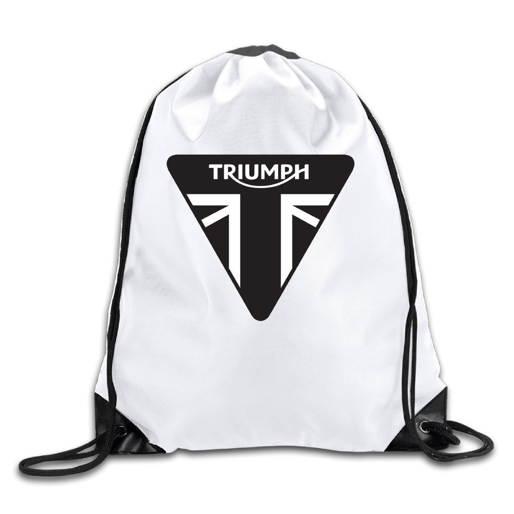 OYOLOY Triumph Motorcycles Logo Drawstring Backpack Sack Bag / Travel Bags OYOLOY CO.Ltd.