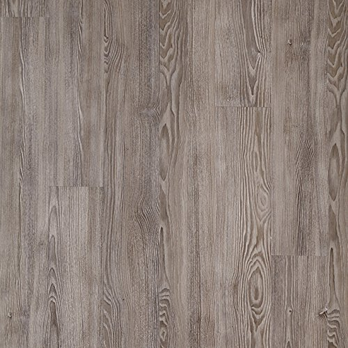 (Mannington Hardware ALP093 Adura Glue Down Distinctive Collection Luxury Avalon Vinyl Plank Flooring, Ocean Mist )