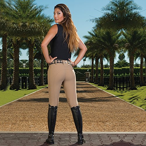 Equine Couture Marie Leather Belt ()