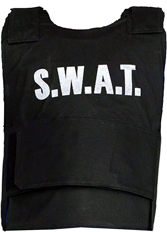 Boys SWAT Children Vest Kids Fake Bullet Proof Vest Top Fancy ...