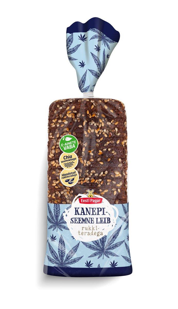 Pan de semillas de cáñamo, 17.64 oz: Amazon.com: Grocery ...