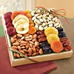 Pacific Coast Classic Dried Fruit Tray Gift by Golden State Fruit