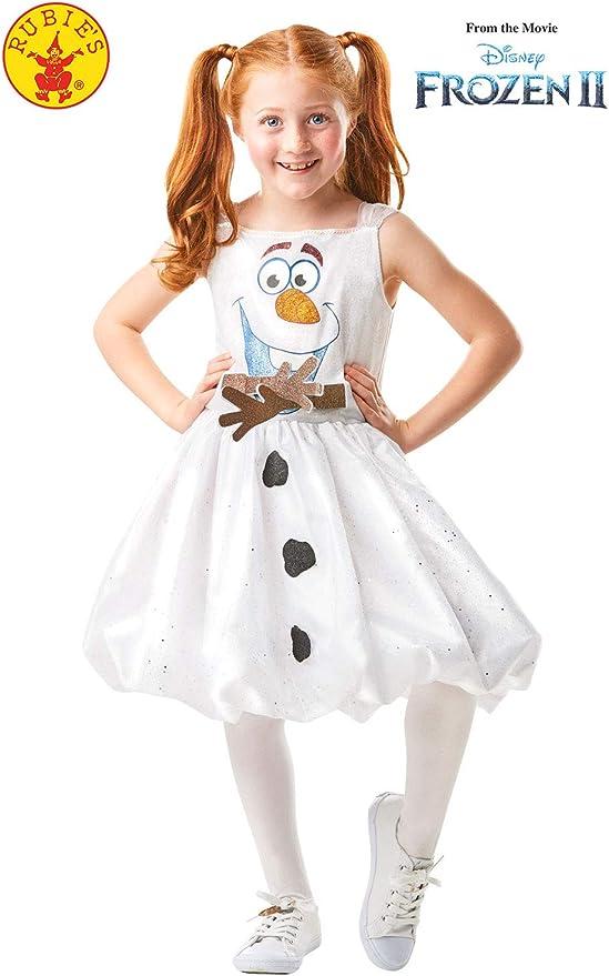 Rubies 300287 3-4 Disney Frozen 2 - Disfraz de Frozen 2, para ...