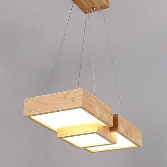 Led Esszimmer Pendelleuchte Modern Lampe Holz Esstisch Hangeleuchte