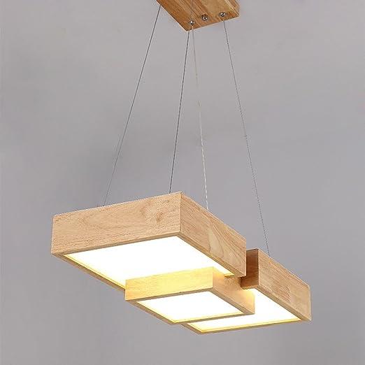 Led Esszimmer Pendelleuchte Modern Lampe Holz Esstisch Hängeleuchte