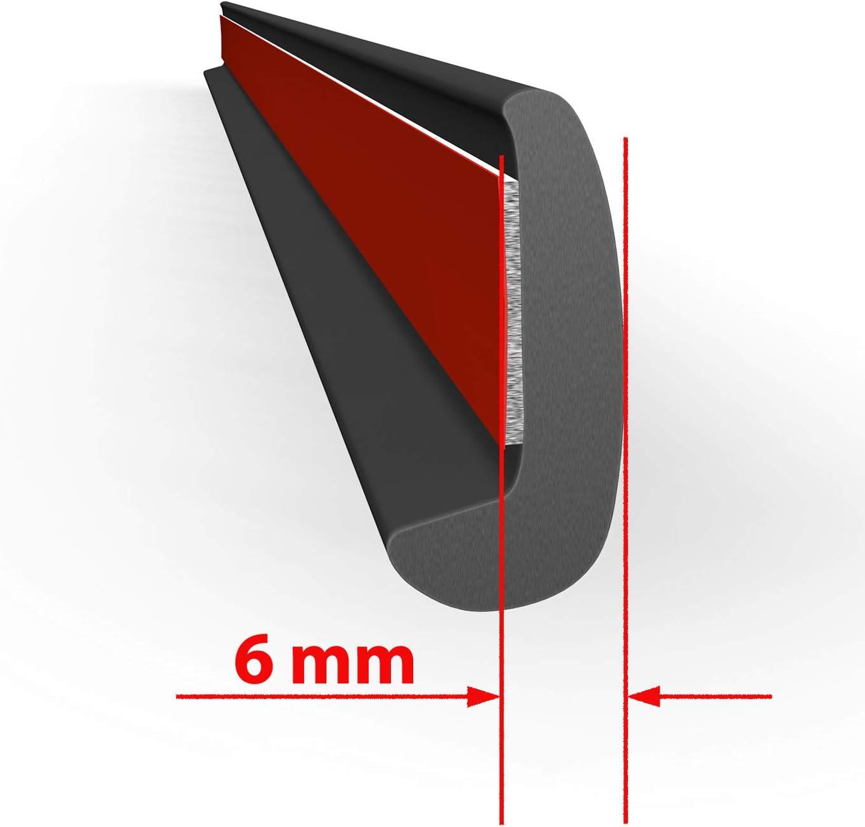 Universelle 6 Mm Pro Seite Verbreiterung Kotflügel 2 Stück Passend Für Viele Fahrzeuge Auto