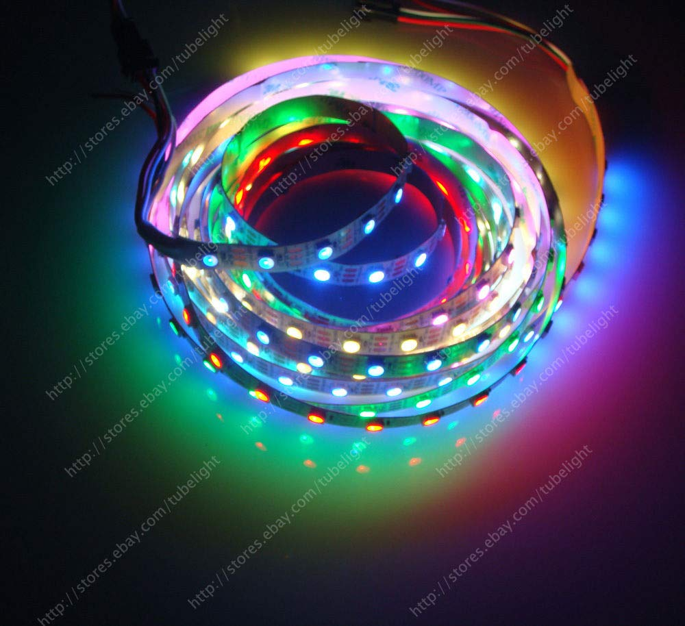 Amazon.com: Tira LED RGB 30/60/144 píxeles/m ...