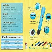 KT-PRASE - Bolígrafo 3D para niños, compatible con filamento ABS ...