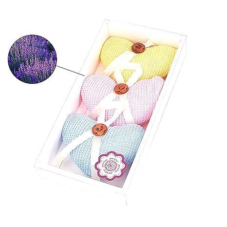 3pcs / Set botón en forma de corazón de la bolsita de ...