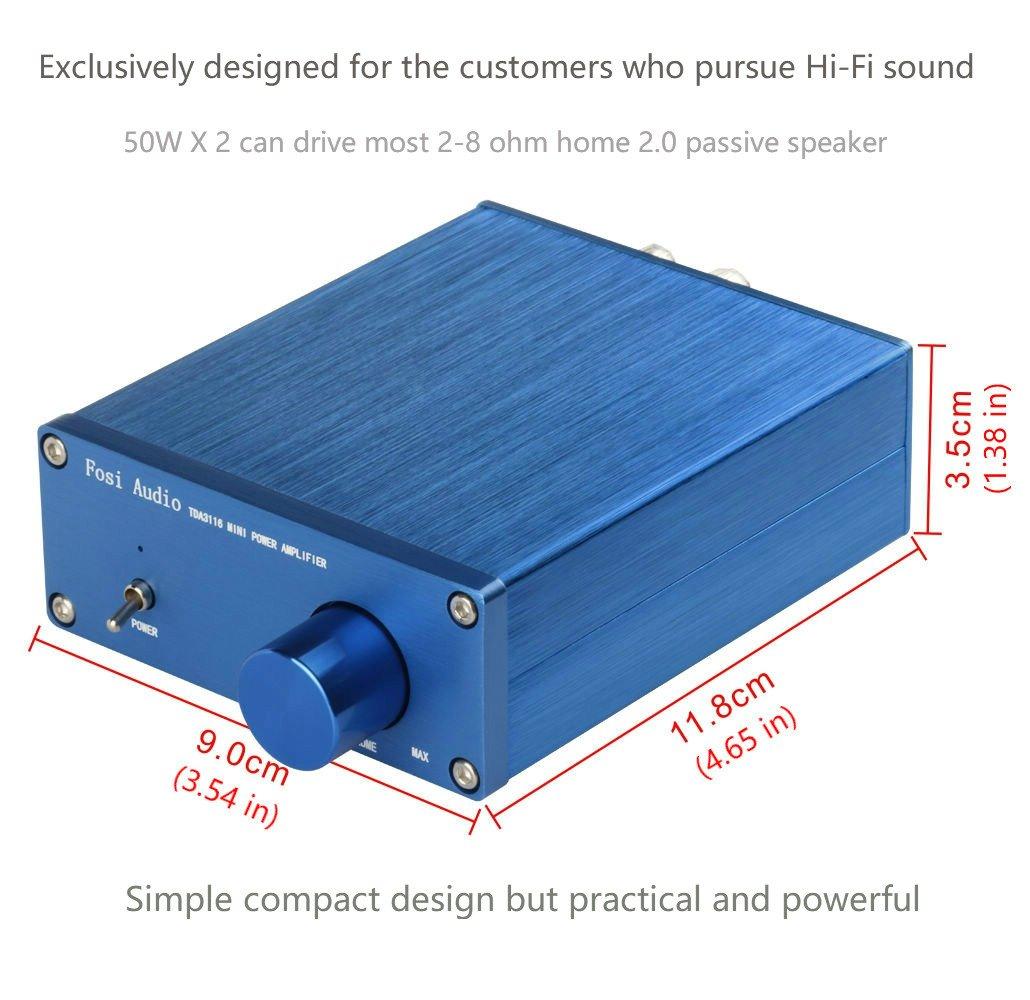 2 Channel Stereo Audio Class D Digital Amplifier Mini Hi Volume Control In Headphone Electrical Engineering Fi Professional Amp For Home Speakers 50w X V10b Electronics