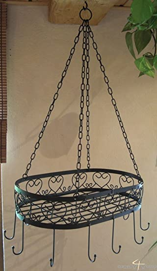 Küchen Hängeregal hängekorb hängeregal kräuterregal küche regal kräuter amazon de