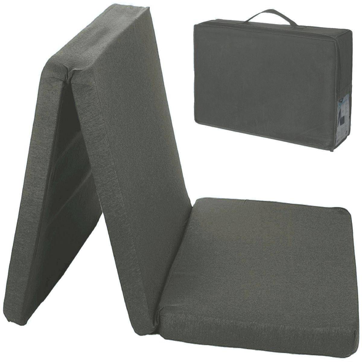 Tasche 120x60cm Reisebett Kinderbett Baby Kind Matratze Bett Reisebettmatratze GRAU