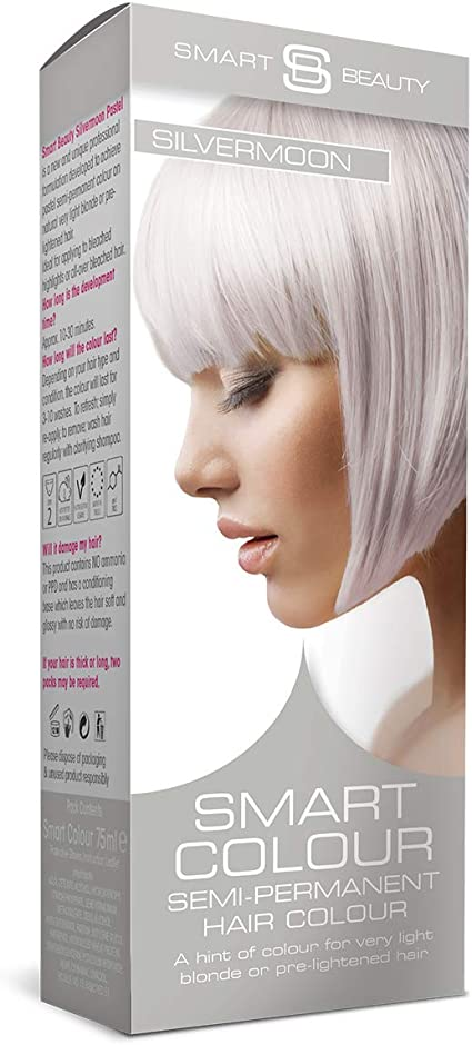 Smart Pastel Silver Moon Tinte Cabello