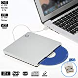 External Slot-in Drive Writer USB 2.0 Portable
