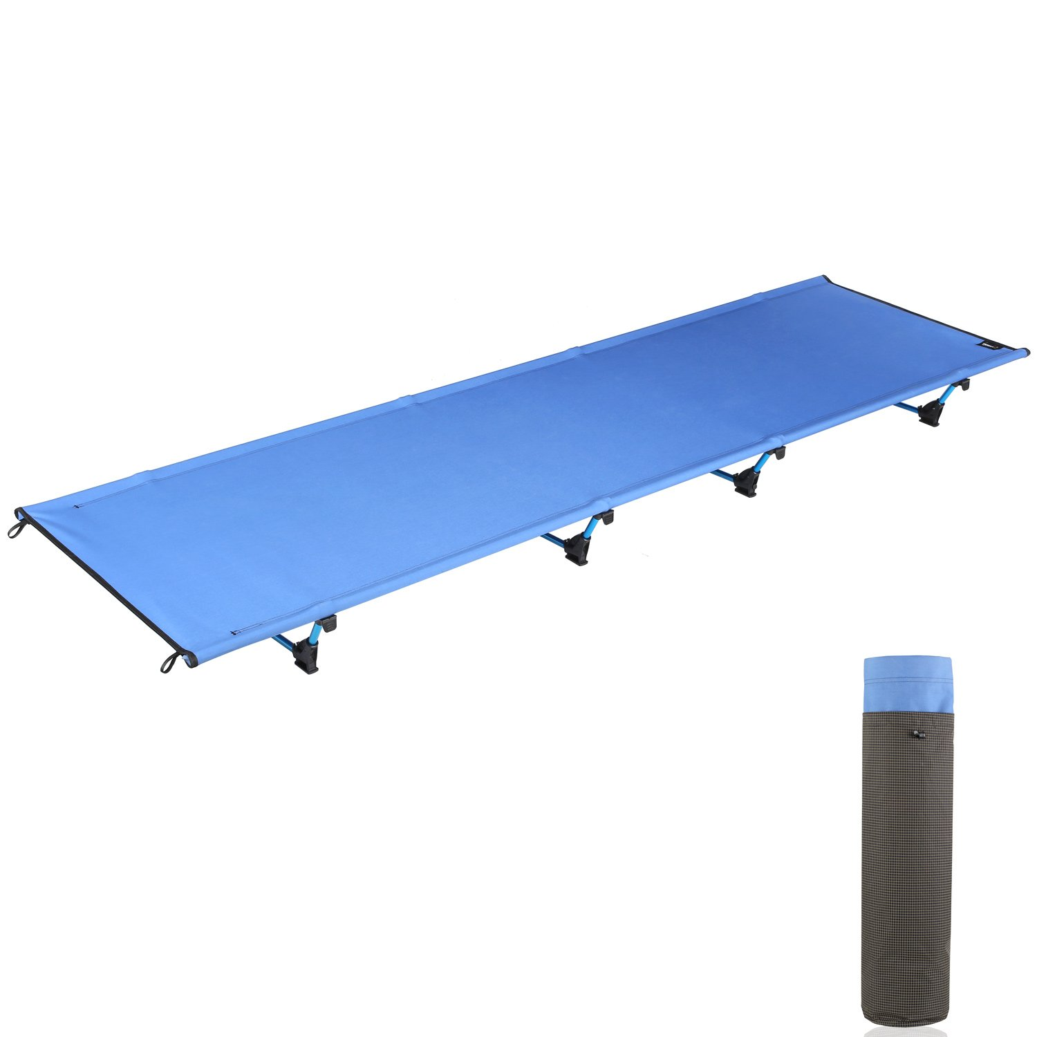 Amazon.com: femor Ultra-Lightweight Camping Cot, Portable Collapsible  Camping Bed, Aluminium Alloy Military Folding Cot for Outdoor Activity  Bearing 441bs ...