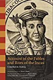 img - for Account of the Fables and Rites of the Incas (William and Bettye Nowlin Series in Art, History, and Cultur) by Crist?de?ed??ede??d??ede?ed???de??d???bal de Molina (2012-05-15) book / textbook / text book