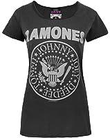 Damen - Amplified Clothing - Ramones - T-Shirt