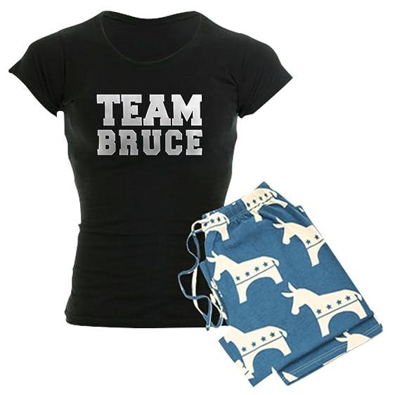 49649afe3 CafePress Team Bruce - Womens Novelty Cotton Pajama Set, Comfortable PJ  Sleepwear