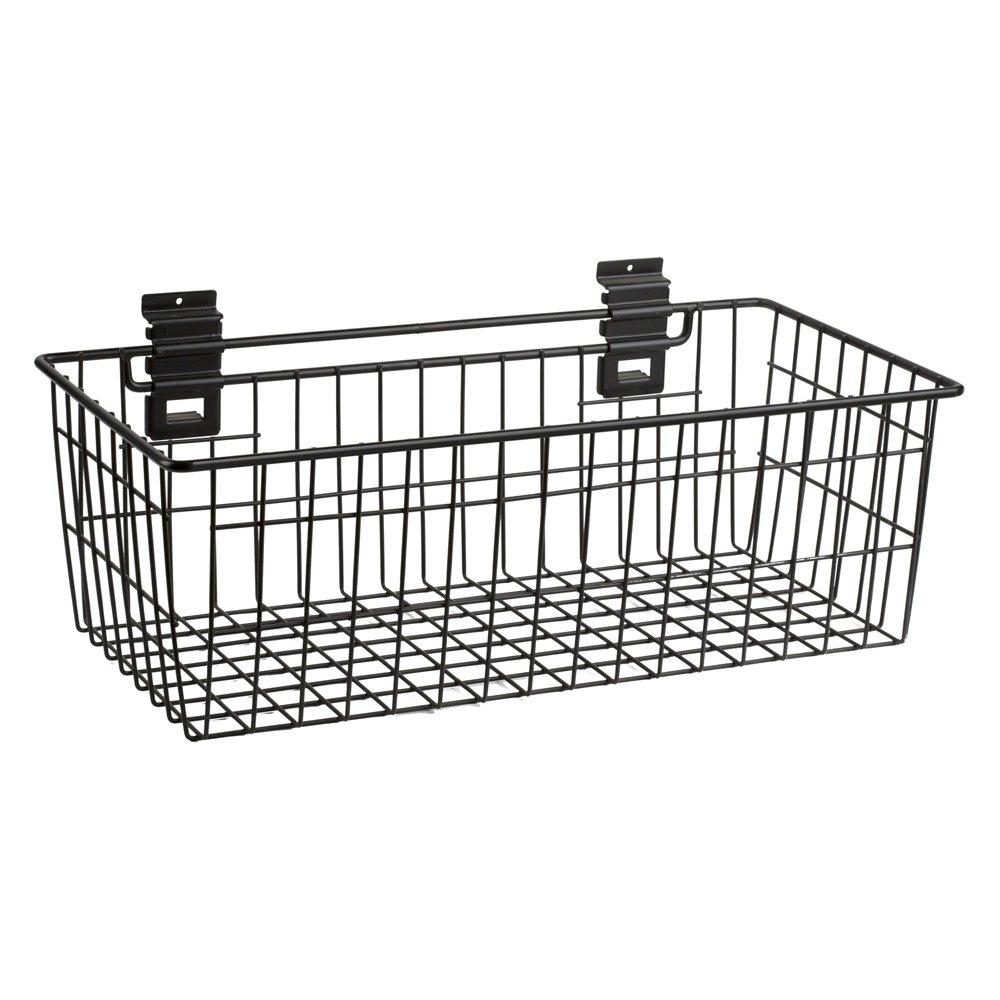 Viper Tool Storage VSW2412BASK Slat Wall 24-Inch by 12-Inch Deep Basket