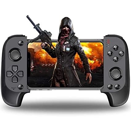 BEBONCOOL Mobile Game Controller for PUBG Mobile Phone Triggers Controller  for iPhone iOS Android, Remote Wireless Controller for Bluetooth