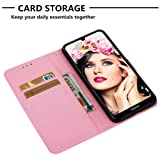 Strap Leather Case for Huawei Y6 2019,Wallet Flip