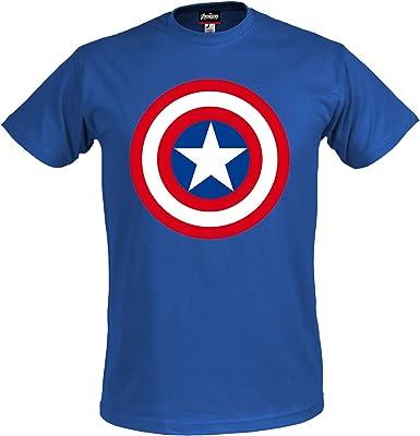Los Vengadores, la Era de Ultron camiseta escudo Capitán América ...