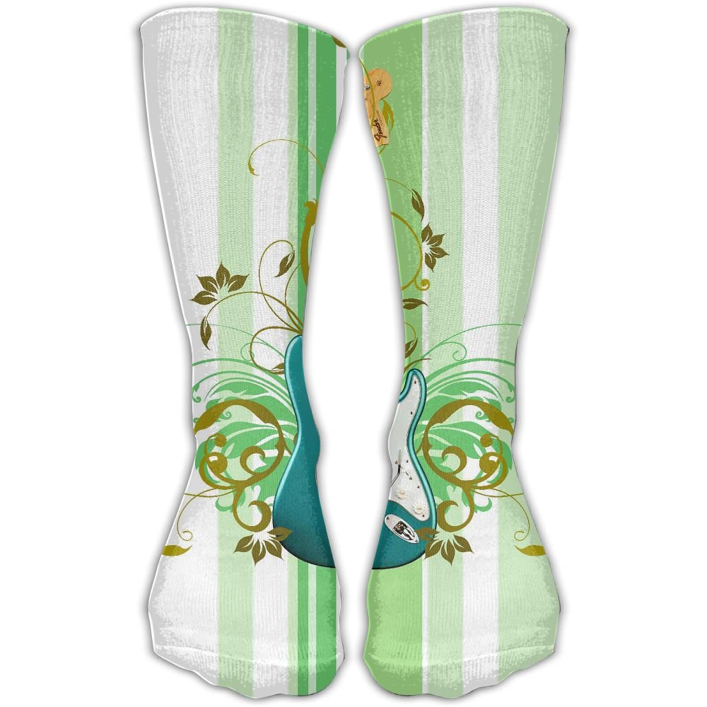 Protect Wrist For Cycling Moisture Control Elastic Sock Tube Socks Guitar With Floral Athletic Soccer Socks