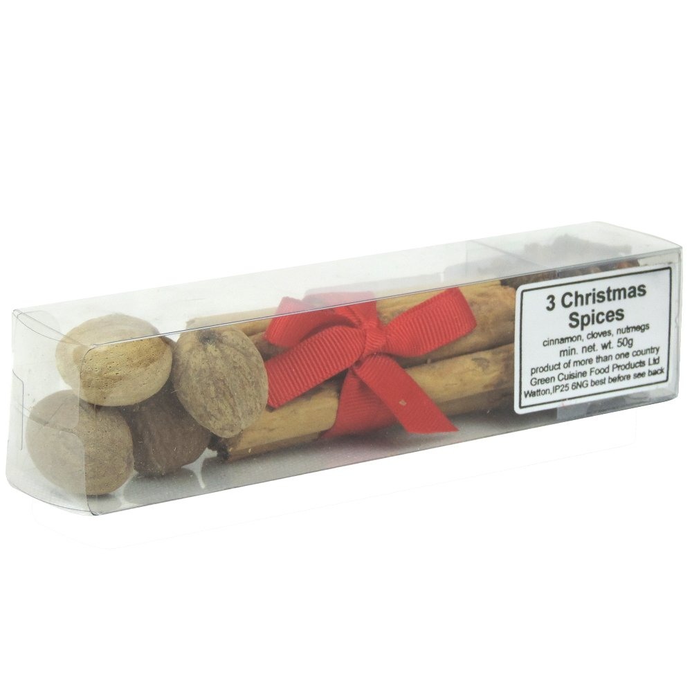 Green Cuisine - 3 Christmas Spices - 50g (Case of 12)