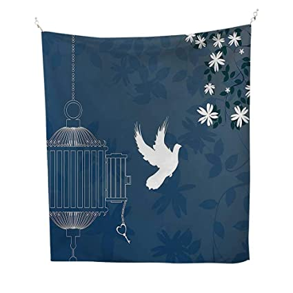 Amazon.com: QINYAN-HOME Tapestry Wall Tapestry (60W x 80L ...
