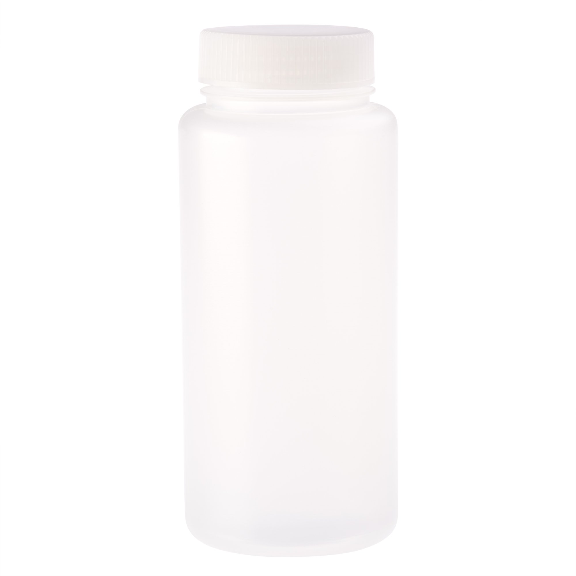 CELLTREAT 229797 500Ml Wide Mouth Bottle, Round, PP, Non-sterile (Pack of 24), Milliliters, Degree C, Polypropylene, (Pack of 24)