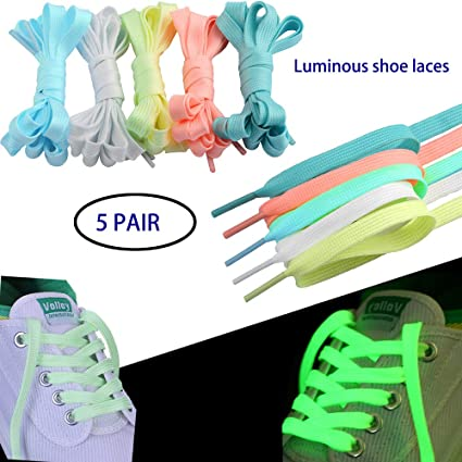 Super Fat Coloured Flat Skate Shoe Laces Shoelaces Dark Green
