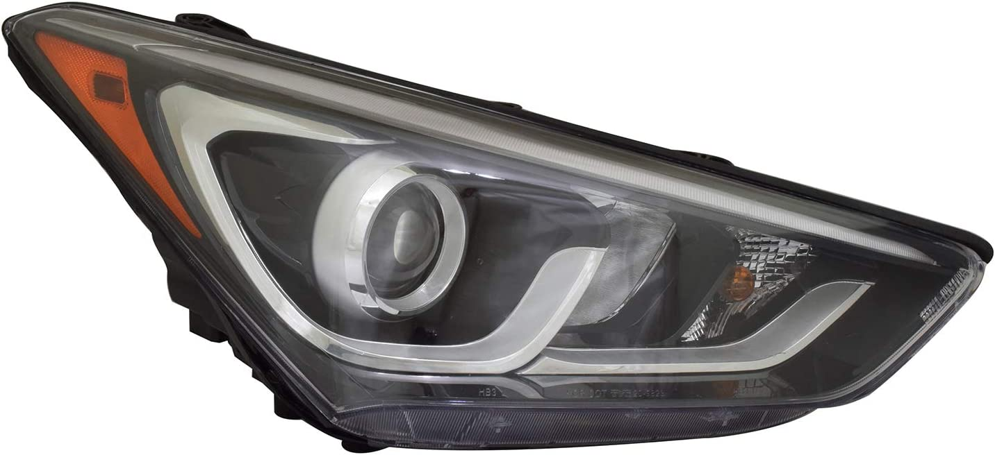 No variation Headlight Assembly Multiple Manufactures HY2503205N Standard