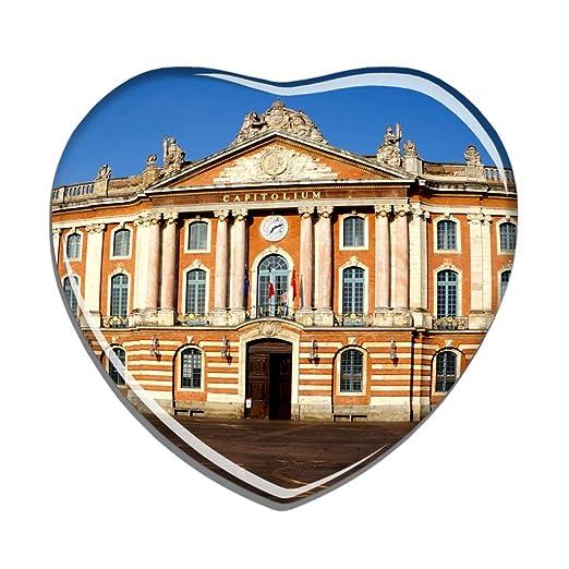 Hqiyaols Souvenir Francia Capitol Square Toulouse Refrigerador ...