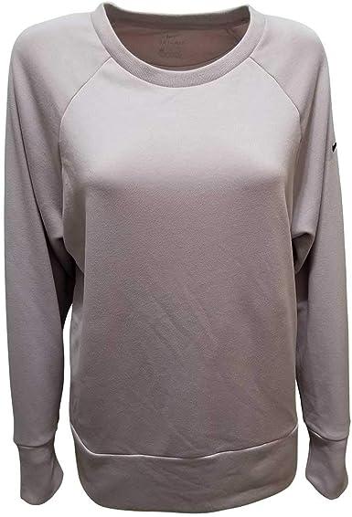 Ineficiente fondo Despido  Amazon.com: Nike Dry Training Crew Top - Sudadera (talla pequeña), color  rosa claro: Clothing