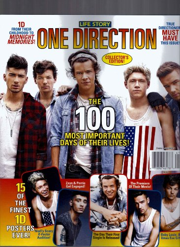 Life Story One Direction 2013 Collectors Edition the 100 Most Important Days of Their Lives