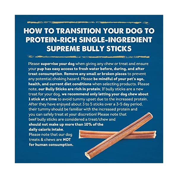Best Bully Sticks - Supreme Bully Sticks - All-Natural Dog Treats 8