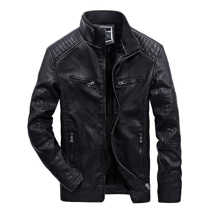 giacca pelle uomo vintage