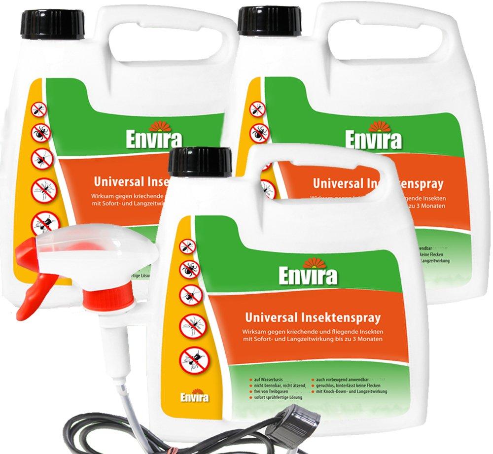 ENVIRA Insektenspray 2, 5Ltr 3 zum Preis von 2