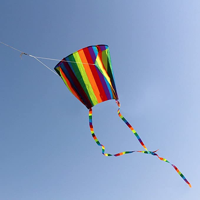 Amazon.com: Orcbee - Mini kite de bolsillo colorido para ...