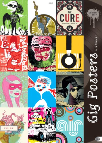 Gig Posters 2012