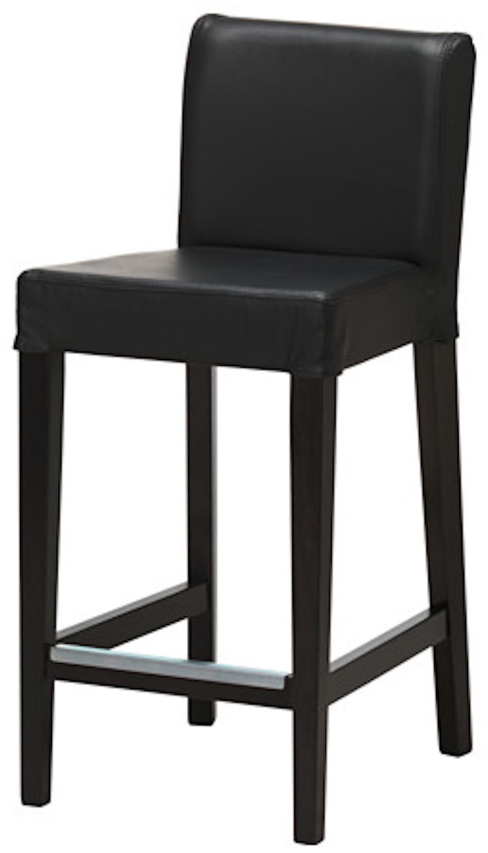 The PU Leather Henriksdal Bar Stool With Backrest Cover Replacement Is Custom Made for Ikea Henriksdal Bar Stool Chair Slipcover